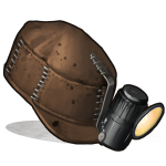 Rust Фуражка шахтёра Miners Hat