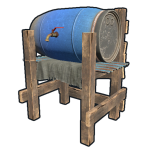 Rust Бочка Water Barrel