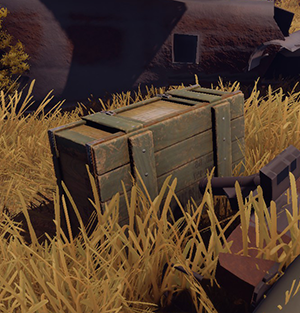 Rust Ящик из вертолета Helicopter Crate